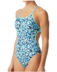 TYR Women's Fragment Crosscutfit Tieback Swimsuit