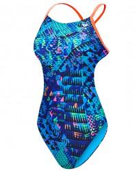 TYR Girls' Machu Cutoutfit Swimsuit
