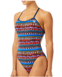 TYR Women's Santa Fe Crosscutfit Tieback Swimsuit