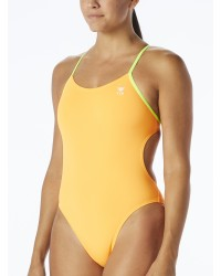 TYR Women's Durafast One Solid Cutoutfit Swimsuit