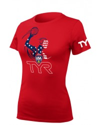 Women's USA Water Polo ODP Character Tee