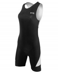 Running Gifts for Her - TYR Women's Padded Carbon Zip Back Tri Suit