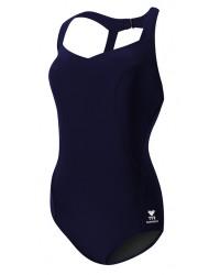Women's Solid Halter Controlfit Swimsuit