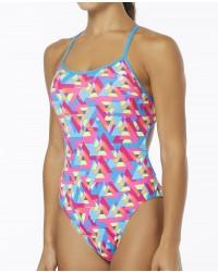TYR Pink Women's Le Reve Trinityfit Swimsuit