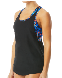 TYR Women's Madison 2 in 1 Tank-Anzan