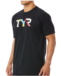 TYR Men's 'Primary' Graphic Tee