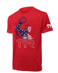 Men's USA Water Polo ODP Character Tee