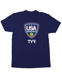 USA Water Polo Shield Tee