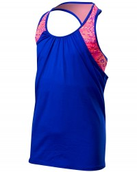 TYR Girls' Conquest Ava 2 in 1 Tank - Coral