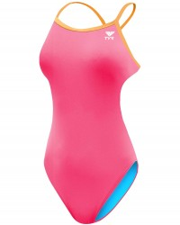 Active Gifts For Kids - TYR Girl's Solid Trinityfit Swimsuit