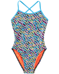 TYR Girls' Zazu Trinityfit Swimsuit