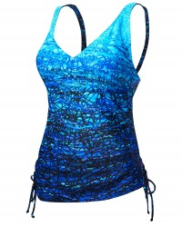 TYR Women's Arctic V-Neck Tankini Plus