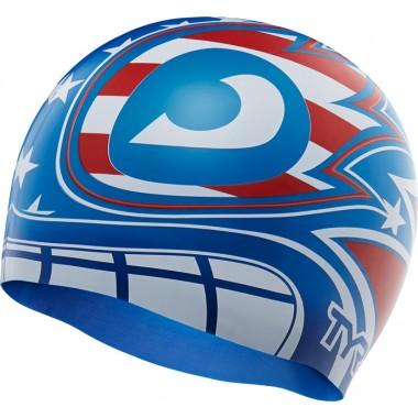The Masked Liberator Swim Cap
