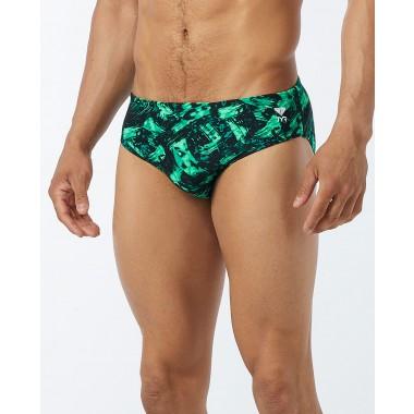 TYR Men's Emulsion Racer Swimsuit