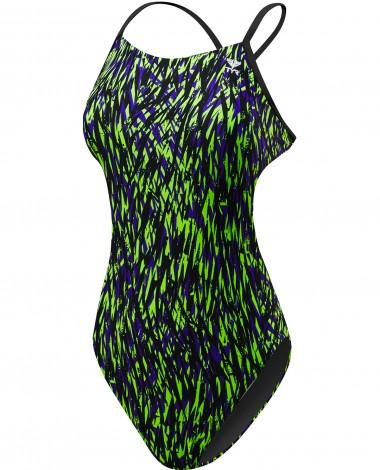 TYR Girls' Rasguno Cutoutfit Swimsuit