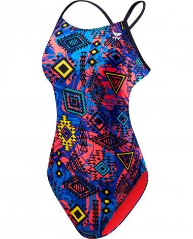 TYR Girl's Santa Ana Cutoutfit Swimsuit