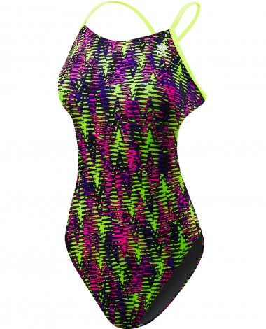 TYR Girls' Waikiki Cutoutfit Swimsuit