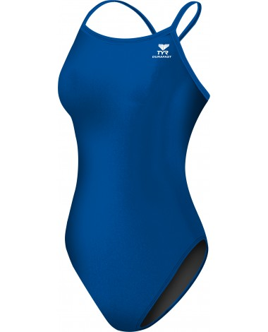 Girls' Durafast Elite Solid Diamondfit Swimsuit
