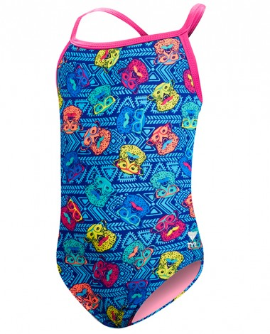 TYR Girls' Bear Dog Diamondfit Swimsuit