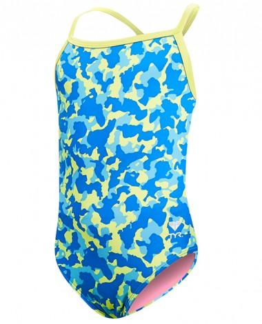 TYR Girls' Hide and Seek Diamondfit Swimsuit