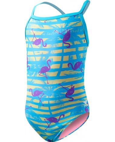 Girls' Flamingo Stripe Diamondfit