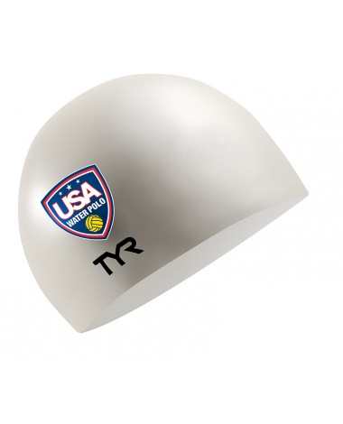 USA Water Polo Latex Swim Cap