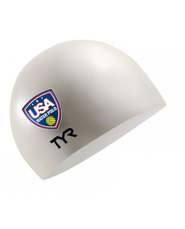 USA Water Polo Silicone Swim Cap