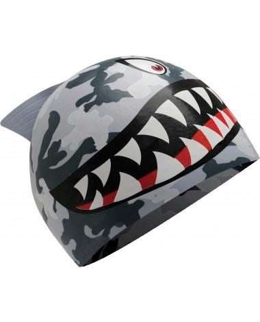 Shark Junior Silicone Swim Cap