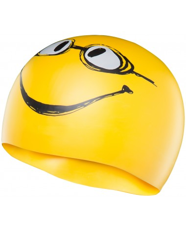 Have a Nice Day Silicone Swim Cap