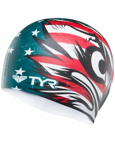 Patriot Swim Cap