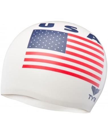 USA Silicone Swim Cap