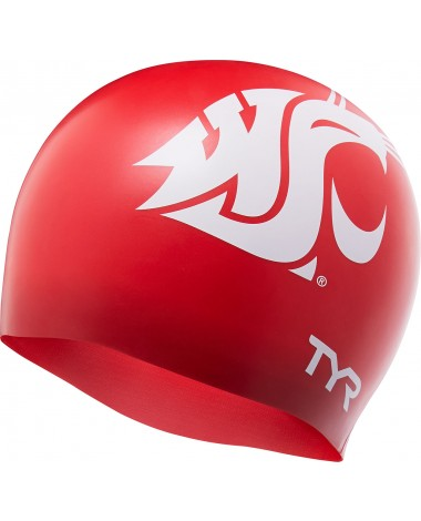 Washington State University Graphic Swim Cap
