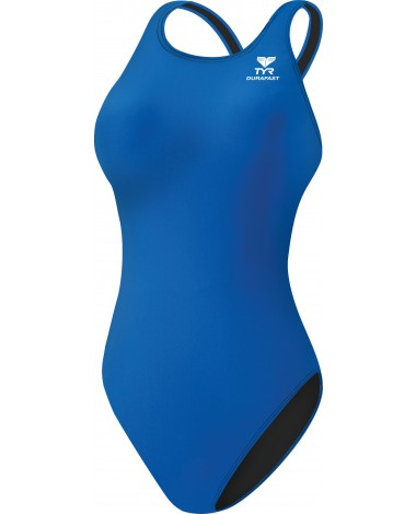 Girls' Durafast Elite Solid Maxfit Swimsuit