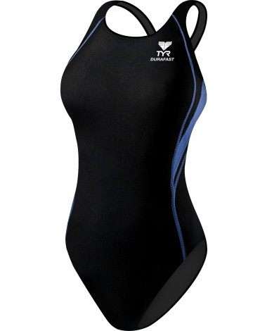 Girls' Durafast One Splice Maxfit Swimsuit