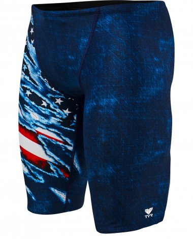 TYR Men's Live Free Jammer Swimsuit