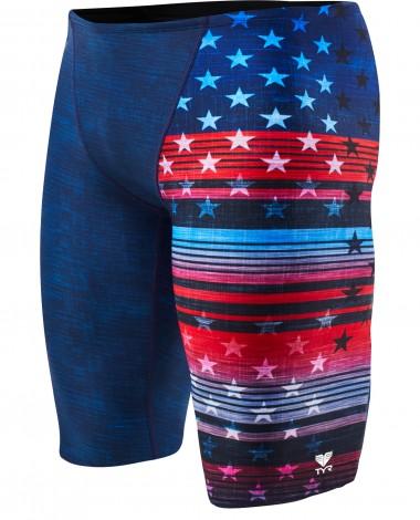 TYR Boys' Liberty Jammer Swimsuit