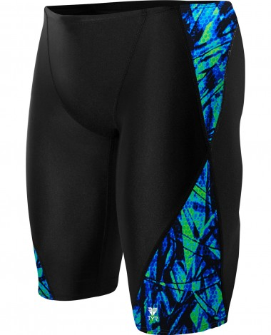 TYR Boys' Sagano Blade Splice Jammer Swimsuit