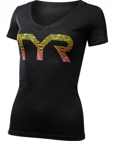 Women's Party Animal Graphic V-Neck Tee
