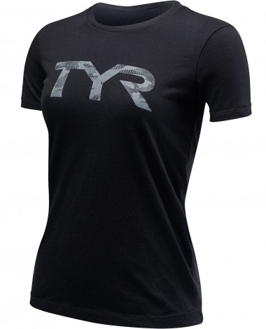 "TYR Women's ""TYR Camo"" Graphic Tee"