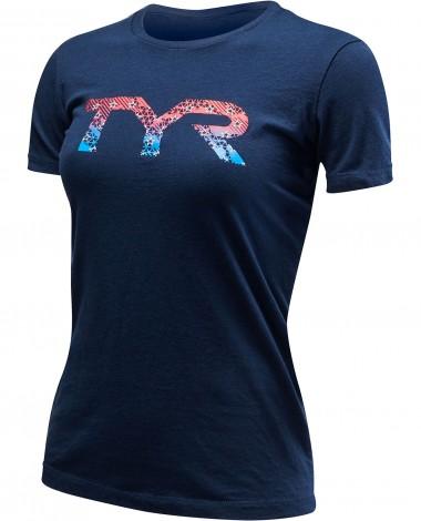 """TYR Women's """"TYR Veteran"""" Graphic Tee"""