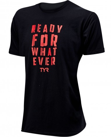 "TYR Men's ""Ready for Whatever"" Graphic Tee"