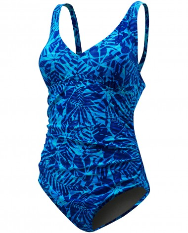 TYR Women's Monaco V-Neck Controlfit Swimsuit Plus