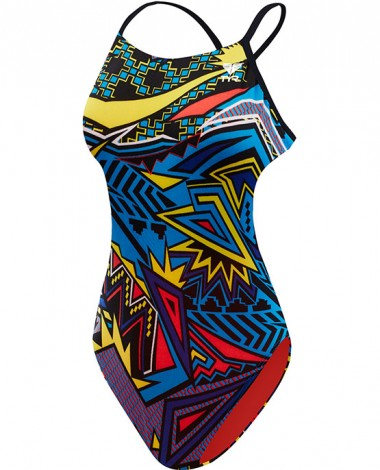 Girls' Whaam Cutoutfit Swimsuit