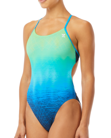 TYR Women's Kinematic Cutoutfit Swimsuit