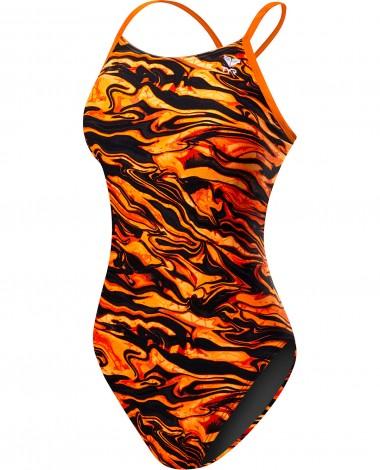 TYR Girls' Miramar Cutoutfit Swimsuit
