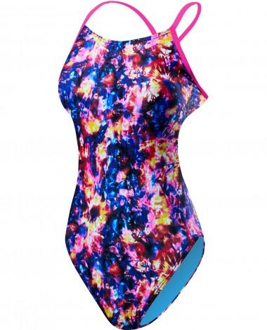 TYR Girls' Stellar Cutoutfit Swimsuit