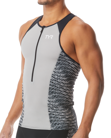 TYR Men's Sublitech ST 5.0 Custom Tri Tank