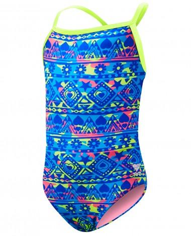 TYR Girls' Hypernova Diamondfit Swimsuit