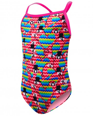 TYR Girls' Lovebird Diamondfit Swimsuit