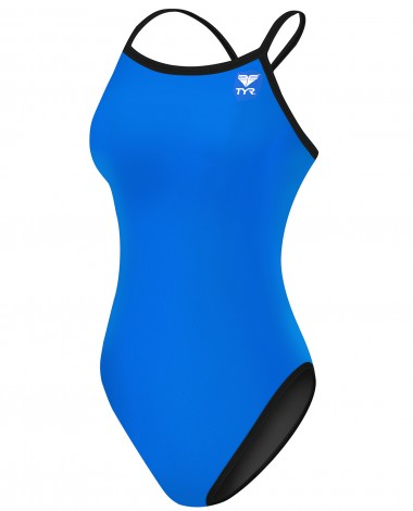 TYR Women's TYReco Solid Reversible Diamondfit Swimsuit